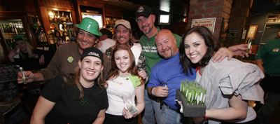 St Pattys Day fun at Steiners Pub