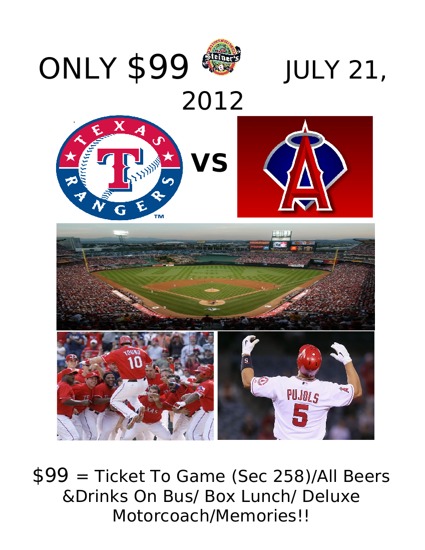 Ranger v Angels Flyer