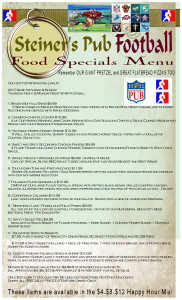 Football Food Menu 9-6-17 b