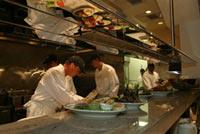 Preparing meals at Steiners